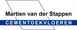 logo Martien van der stappen Cementdekvloeren